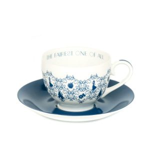 English Ladies Snow White Story Cup And Saucer