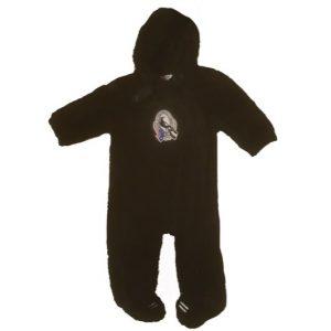 Collingwood Faux Fur Baby Jumpsuit