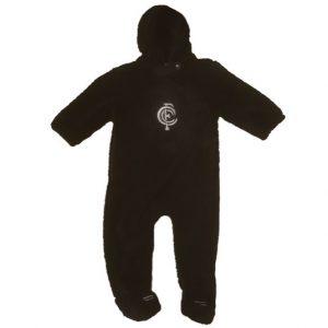 AFL Carlton Faux Fur Baby Jumpsuit
