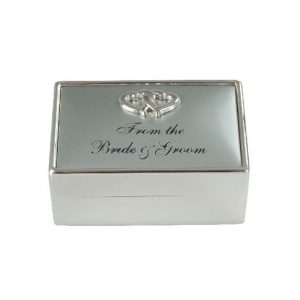From The Bride And Groom Trinket Box