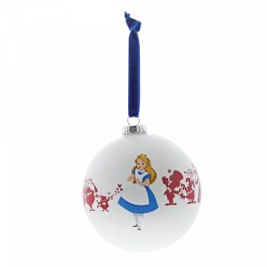 Disney Enchanting Bauble Alice In Wonderland