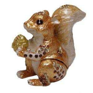 Squirrel Trinket Box