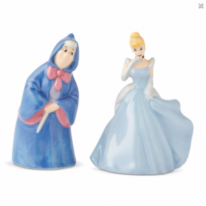 Disney Cinderella And Fairy Godmother Salt And Pepper