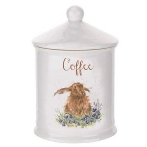 Royal Worcester Wrendale Coffee Canister