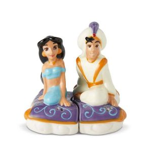 Disney Aladdin And Jasmine Salt And Pepper