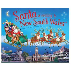 Santa Is Coming To New South Wales Book