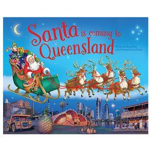 Santa Is Coming To Queensland Book