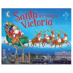 Santa Is Coming To Victoria Book