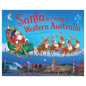 Santa Is Coming To Western Australia Book