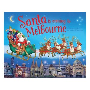Santa Is Coming To Melbourne Book