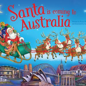 Santa Is Coming To Australia Book