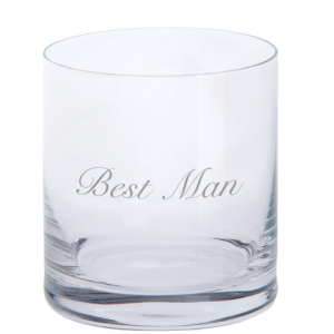 Just For You Best Man Tumbler