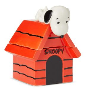 Enesco Peanuts Snoopy House Cookie Jar