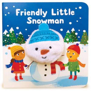Little Me Friendly Little Snowman Finger Puppet Book