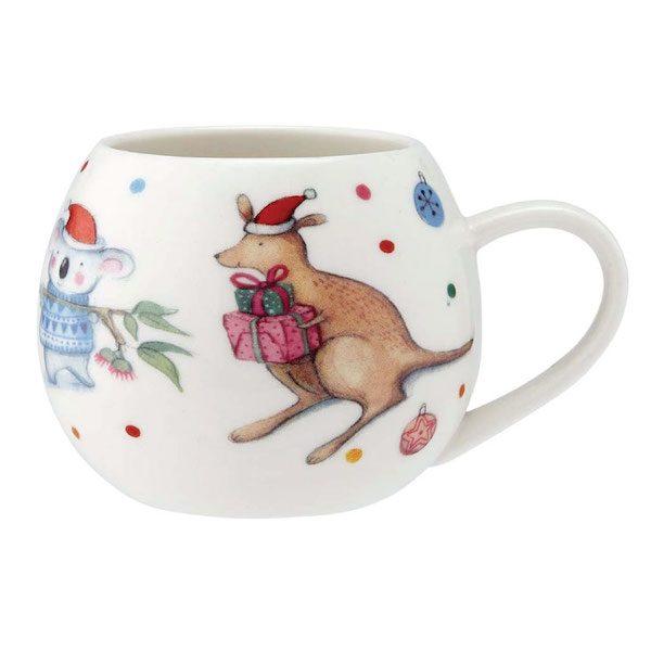 Christmas Mug Hoppity Kangaroo