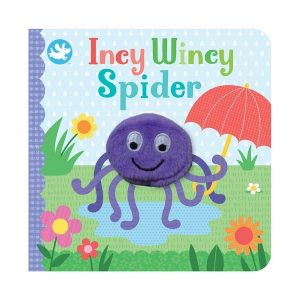 Little Me Incy Wincy Spider Finger Puppet Book