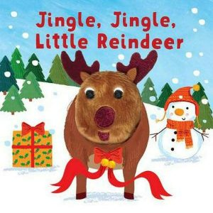 Little Me Jingle Jingle Little Reindeer Finger Puppet Book