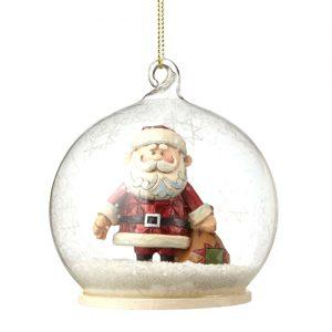 Jim Shore Ornament Santa Dome
