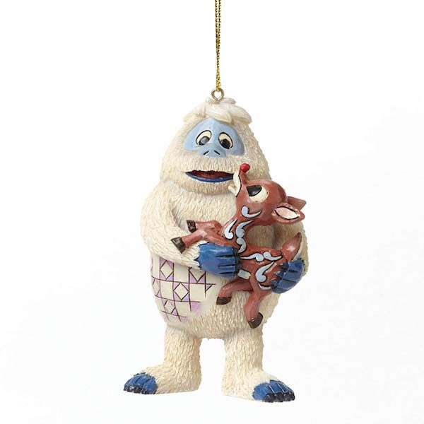 JIM SHORE BUMBLE AND RUDOLPH REINDEER HANGING ORNAMENT