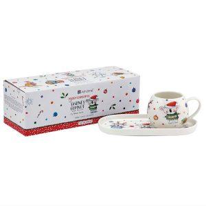 Christmas Mug And Tray Set Barney Gumnut