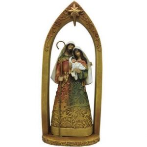 Holy Family Nativity Arch Scene