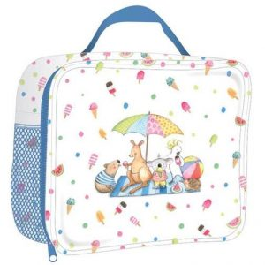 Summer With Barney Insulated Lunch Bag