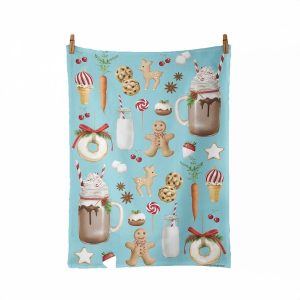 Sugar Sweet Christmas Tea Towel