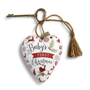 Art Hearts Baby's First Christmas