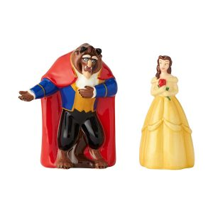 Disney Belle And Beast Salt And Pepper
