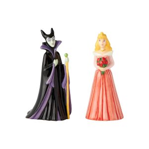 Disney Sleeping Beauty And Maleficent Salt And Pepper