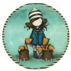 Gorjuss Collectable Wall Plate - The Foxes