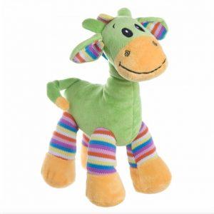 Gabby Giraffe Bright Striped Lime