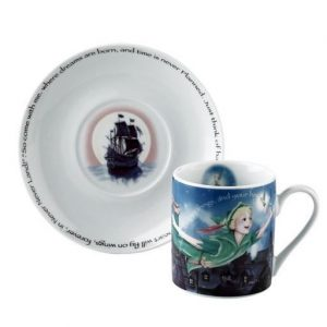 Cardew Designs Peter Pan Cup And Saucer