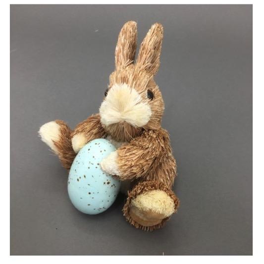 Baby Blue Egg Bunny