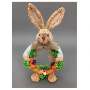 Bunny Head Carrot Wreath