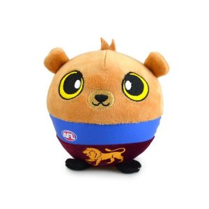 Brisbane Lions Squishii Player Plush Toy