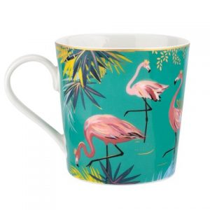 Sara Miller Tahiti Mug Flamingo