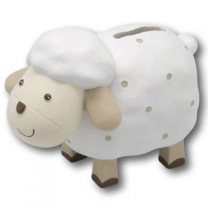 Baby Sheep Money Box