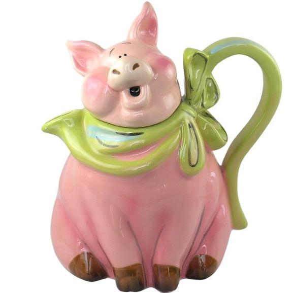 Piggy Teapot