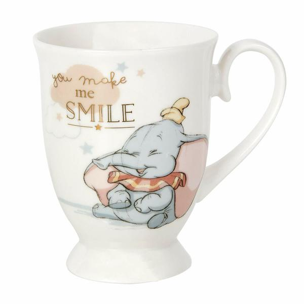 Disney Magical Beginnings Dumbo Mug - You Make Me Smile