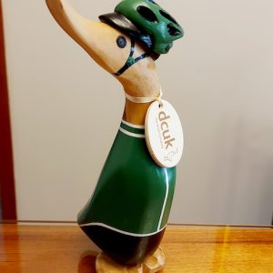 Cycling Duckling - Green Jersey