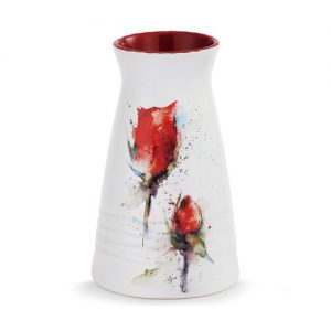 Dean Crouser Red Rose Vase