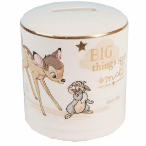Disney Magical Beginnings Bambi Ceramic Money Bank