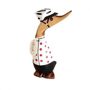 Cycling Duckling - Polka Dot Jersey