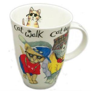Roy Kirkham Animal Fashion Cat Mug