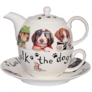 Roy Kirkham Animal Fashion Dog Tea for One Teapot