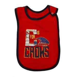 Adelaide C Is For Crows Baby Bib