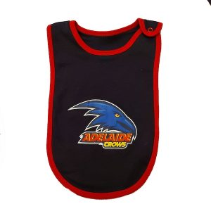 Adelaide Crows Baby Bib