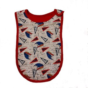 Adelaide Crows Baby Bib 2