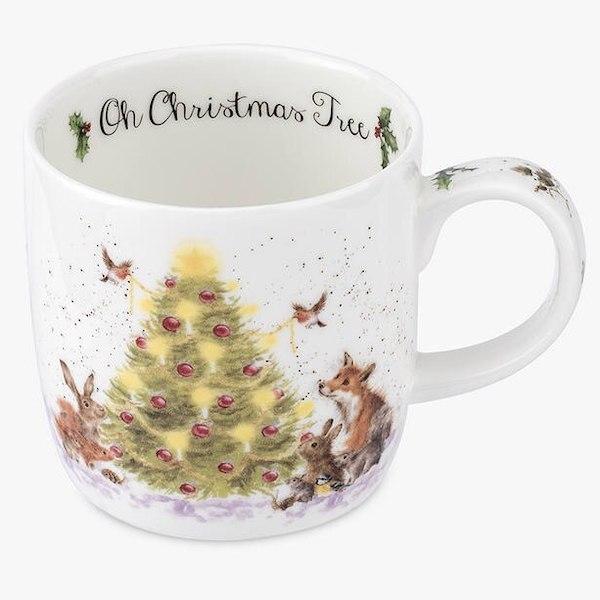 Wrendale Christmas Tree Mug